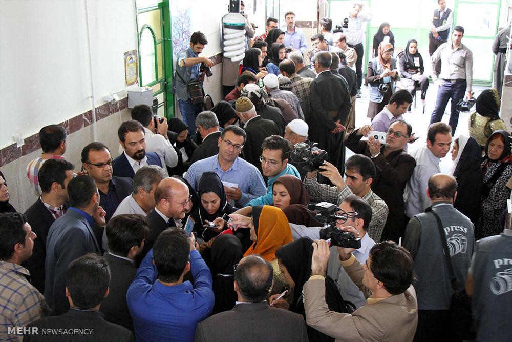 انتخابات ریاست جمهوری و شورای اسلامی شهر و روستا در کردستان