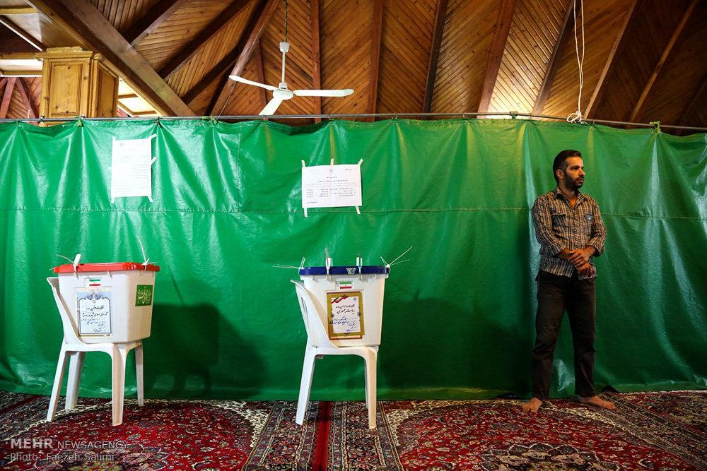 انتخابات ریاست جمهوری و شورای اسلامی شهر و روستا در آمل