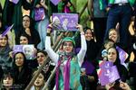 شادی مردم پس از انتخابات ۲۹ اردیبهشت -تبریز