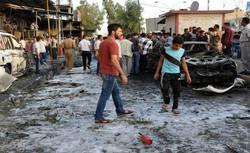 مقتل واصابة نحو 30 شخصا في تفجير مزدوج جنوب بغداد