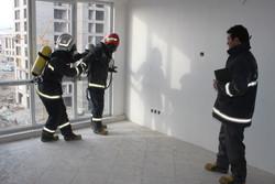 تخریب یک باب منزل مسکونی درسنندج/دو نفر راهی مراکزدرمانی شدند