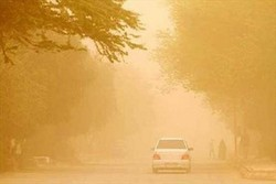 Dust storms hit Iran's western provinces