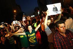 جشن انتخابات در سمنان