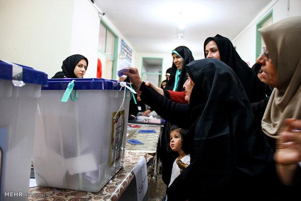 انتخابات ریاست جمهوری و شورای اسلامی شهر و روستا در شهرستان میانه