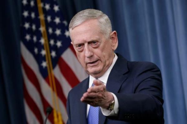 جیمز ماتیس: علیه کره شمالی گزینه نظامی داریم,