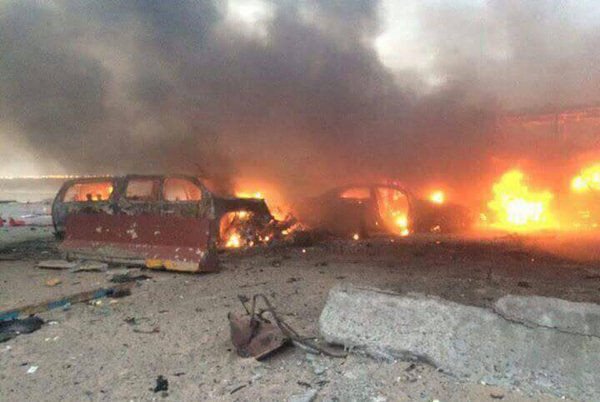 عمليات البصرة: 15 قتيلا وجريحاً حصيلة تفجیر مفخختين