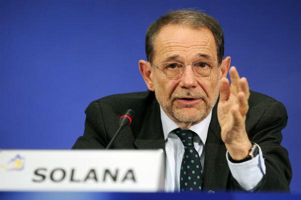 Solana says NATO must apologize to Mr. Erdogan