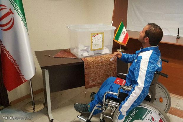 Iran's presidential election in Baku