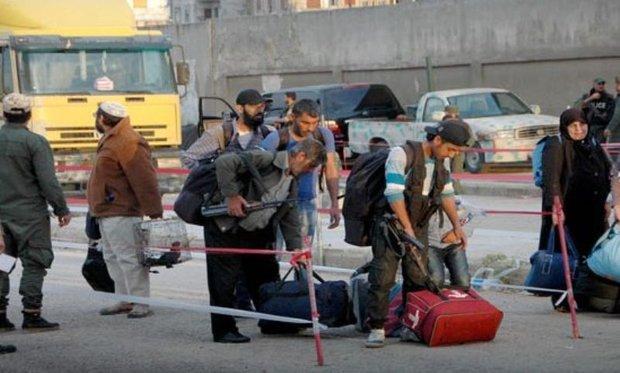 260 gunmen leave al-Waer neighborhood