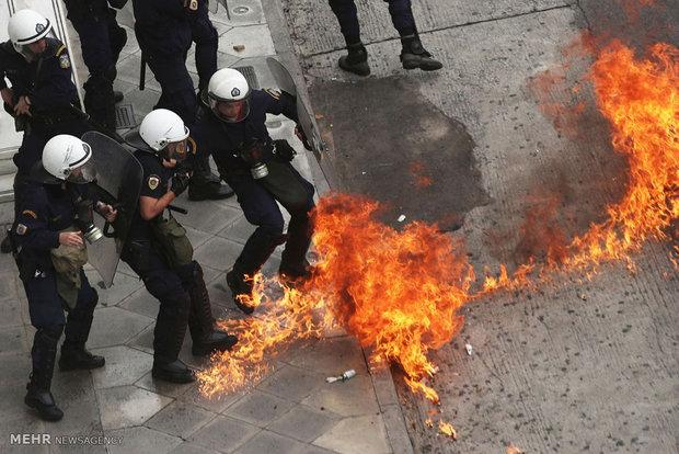 اعتصاب سراسری کارگران در یونان