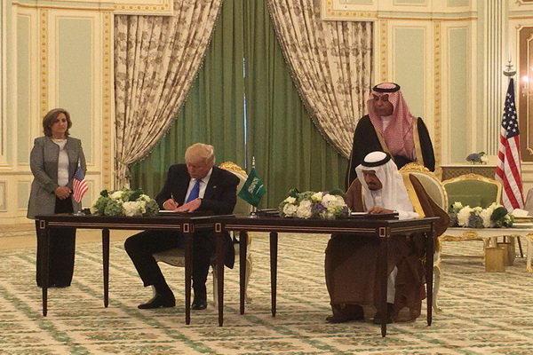 قرارداد ۴۶۰ میلیارد دلاری تسلیحاتی آمریکا و عربستان