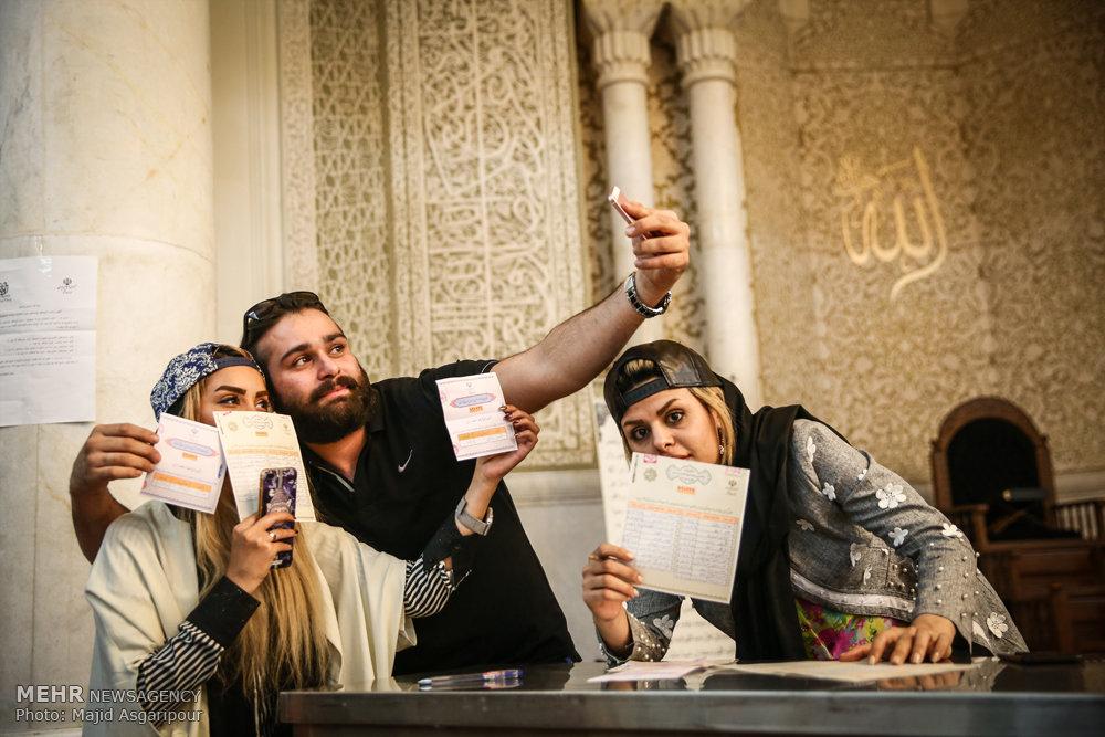 آخرین ساعات رای گیری در شعب اخذ رای تهران -۲