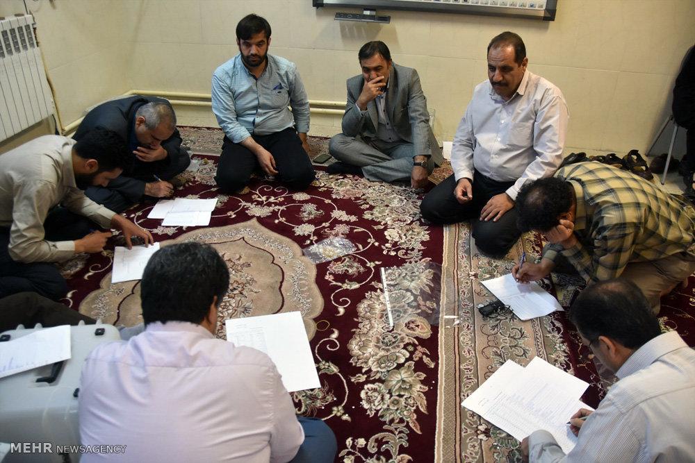 شمارش آراء در شهرضا اصفهان