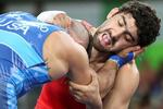 ستاره المپیکی کشتی آذربایجان دوپینگی از آب در آمد