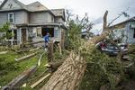 امریکہ کی مرکزی ریاستوں میں طوفان