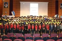 جشن دانش آموختگان پژوهشگاه شیمی برگزار شد
