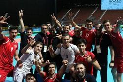 والیبال- تیم ملی قهرمان بازیهای کشورهای اسلامی