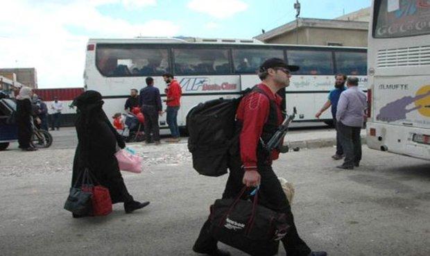 459 gunmen leave al-Waer neighborhood