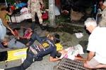 زخمی شدن ۲۴ نفر بر اثر انفجار بمب در بیمارستانی در تایلند