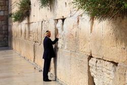 ترامپ به عنوان اولین رئیس جمهور آمریکا از «دیوار ندبه» دیدن کرد