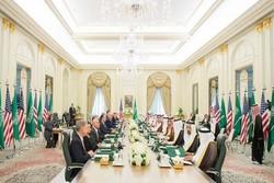 هیات آمریکا و عربستان