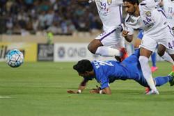تساوی استقلال برابر العین امارات در پایان نیمه اول