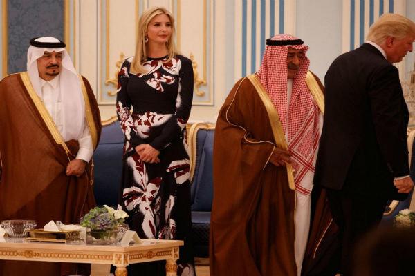 السعودية والامارات تقدمان 100 مليون دولار لصندوق إيفانكا ترامب