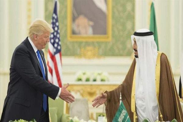 ٹرمپ  نے سعودی بادشاہ کی اوقات بتا کر اسے عالم اسلام میں رسوا کردیا/سعودیہ کے خلاف ٹرمپ کی دھمکیاں کارگر ثابت ہوگئیں