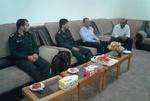 دیدار بسیجیان با خانواده شهید جاویدالاثر اهل سنت شهرستان عسلویه