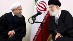 Hassan Rouhani meets Ayatollah Khamenei