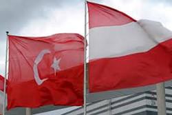 پرچم ترکیه و اتریش