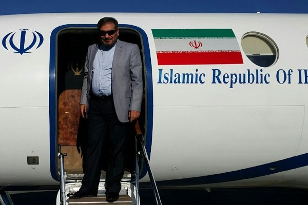 Shamkhani lands in Russia's Ufa to attend intl. security conf.