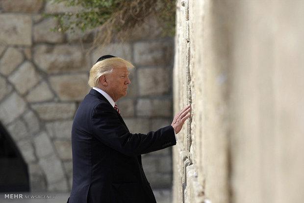 سفر ترامپ به سرزمین های اشغالی