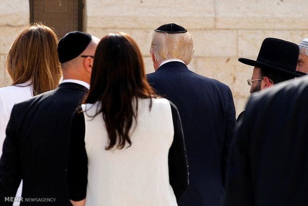 زیارت خانواده ترامپ در اسرائیل
