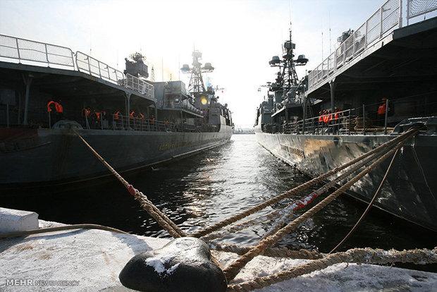 Rusya'nın 5. Deniz Filosu İran'a demir attı