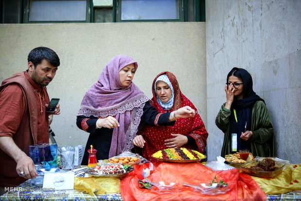 Nations Food Festival in University of Tehran