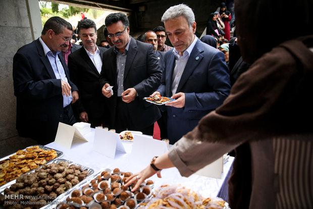 جشنواره غذا در دانشگاه تهران
