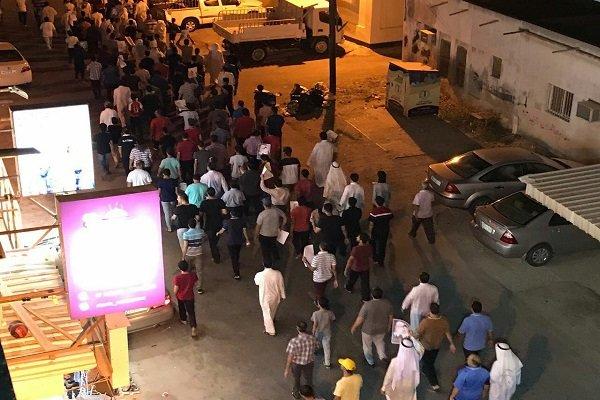تظاهرات ضد آمریکایی مردم بحرین در نقاط مختلف