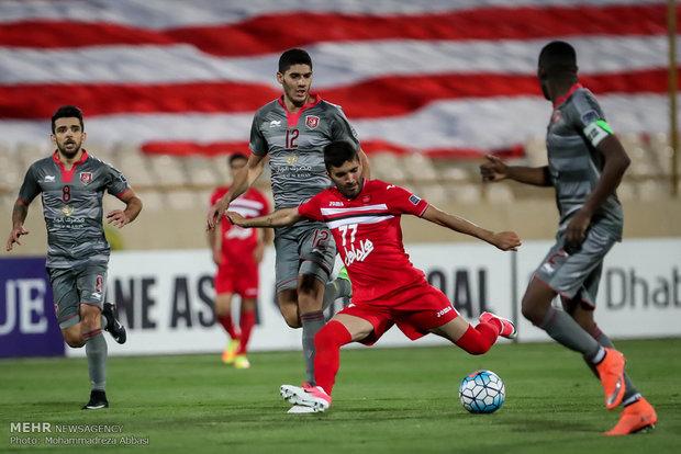Persepolis ve Lekhwiya arasındaki maçtan kareler