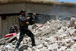القوات العراقية تسيطر على مواقع حيوية في حي الزنجيلي بالموصل القديمة