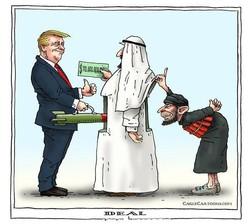 العلاقات السعودية- الأمريكية في عهد ترامب