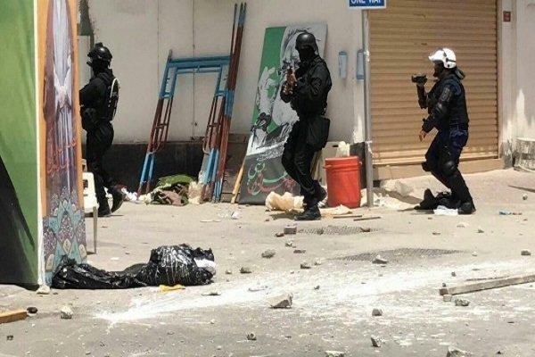 Al Halife'den Bahreynli göstericilere müdahale