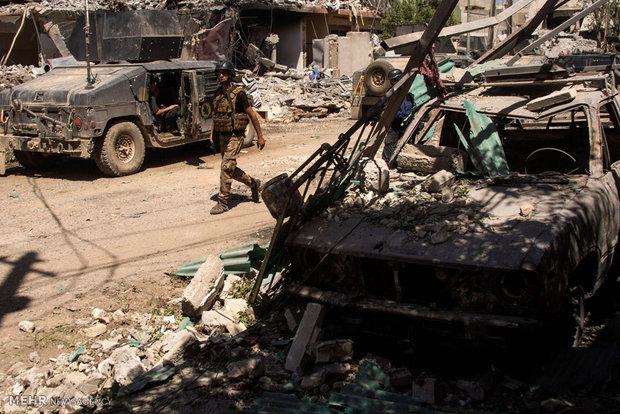 تفجير أربع سيارات مفخخة وثلاث دراجات في أيمن الموصل
