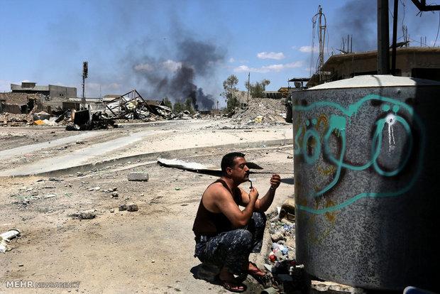 نفس های آخر داعش در موصل