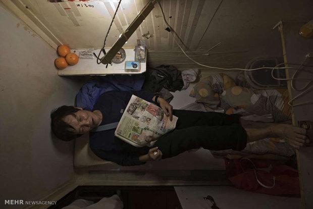 خانه های تابوتی در هنگ کنگ