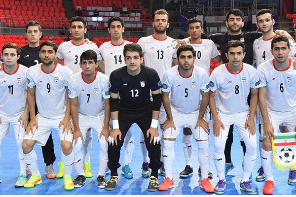 تیم فوتسال زیر 20 سال ایران