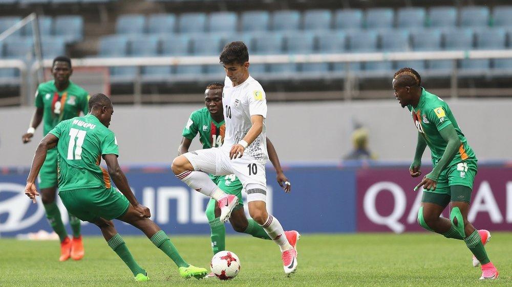 Iran tastes defeat against Zambia