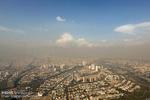 هوای تهران ناسالم است/ شاخص آلودگی ۱۲۸