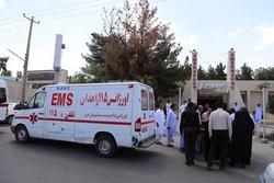 مجروح شدن ۴نفر از کارکنان بیمارستان میرجاوه در اثر سانحه رانندگی