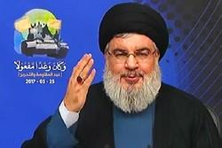 نصر اللـه ينصح السعودية بالتفاوض مع ايران